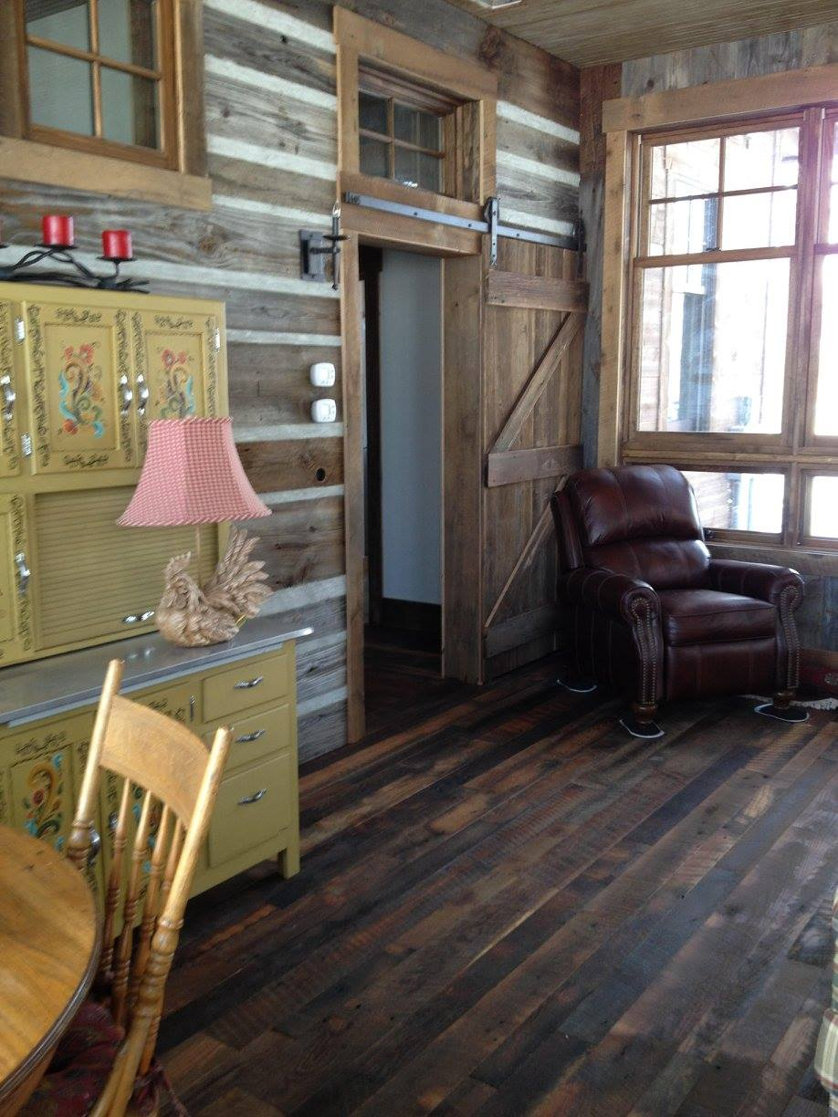 Ideas For Using Barn Wood And Antique
